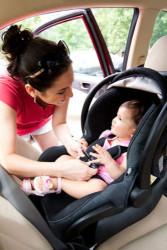 Babyskydd i bilen