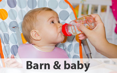 Barn & baby