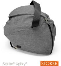 Stokke, Xplory, Shopping Bag, Black Melange