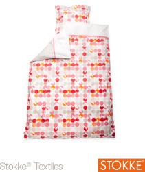 Stokke Sleepi, Påslakanset, 100×135 & 40×60 cm, Silhouette Pink