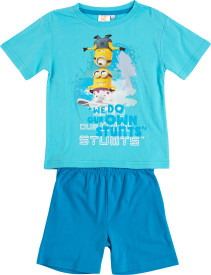 Despicable me, Pyjamas, Light blue/Dark