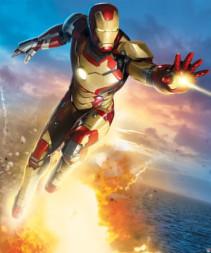 Walltastic, Väggdekoration, Iron Man