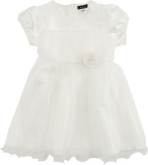 Jocko,Babyklänning, Naturvit