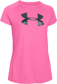 Under Armour, Tränings t-shirt, Solid big logo, Pink punk