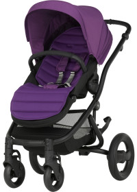 Britax Affinity, 2016, Sittvagn, White/Mineral Lilac, Paket