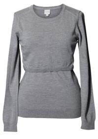 Boob, Amningströja, Knitted Sweater, Grey Melange