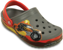 Crocs, Tofflor, Kids Crocband, Monster Truck, Smoke
