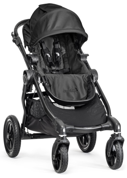 Baby Jogger, Sittvagn, City Select Single, 2014, Black