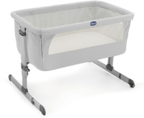 Chicco, Bedside Crib, Next2me, Silver
