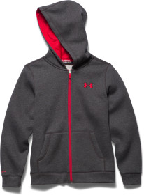 Under Armour, Huvtröja, Storm full zip hoody, Carbon Heather