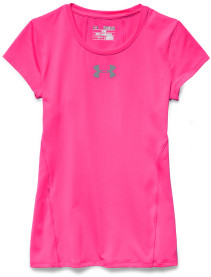 Under Armour, Topp, Alpha shortsleeve, Rebel Pink
