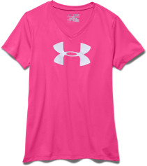 Under Armour, Topp, UA Big logo tech, Rebel Pink