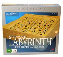 Labyrintspel i trä