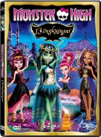 DVD, Monster High: 13 Önskningar
