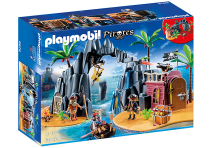 Playmobil Pirates, Skattö med pirater
