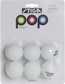 STIGA, Pingisbollar, Spinny, 6 st