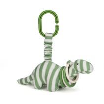 Jellycat, Dinosaurie Dennis Clicketty 8 cm