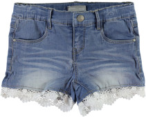 Name it, Jeansshorts, Sirianna, Kids, Light Blue Denim