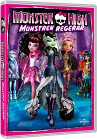 DVD, Monster High – Monstren regerar