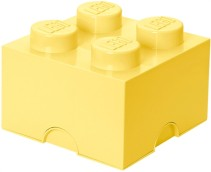LEGO, Förvaring 4, Design Collection, cool yellow