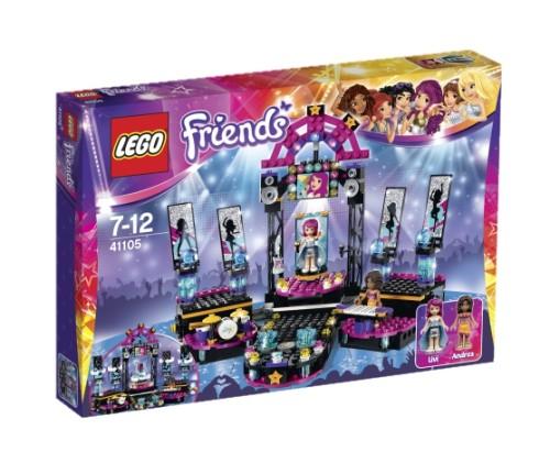 LEGO Friends 41105, Popstjärnornas scen