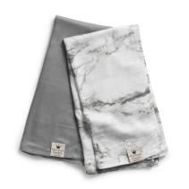 Elodie Details, Bamboo Muslin – Marble Grey