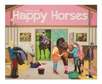 Create your Happy Horses Klistermärkesbok