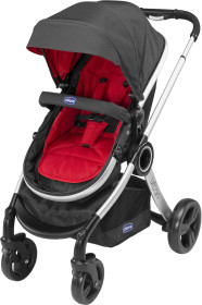 Chicco, Textil till sittdel, Urban, Colourpack, Red Wave