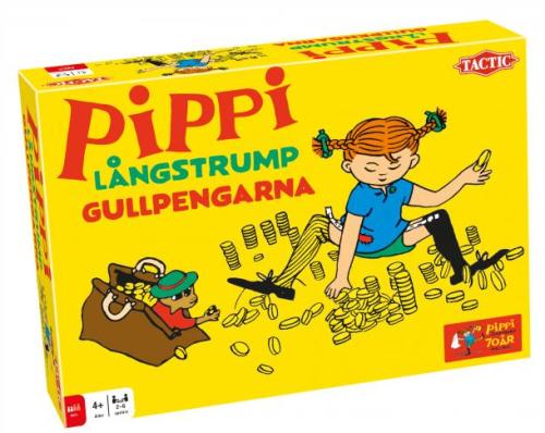 Tactic Pippi Långstrump Gullpengarna