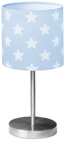 Kids Concept, Star, Bordslampa, Ljusblå/vit