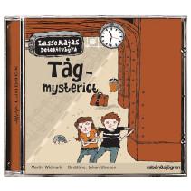 LasseMajas Detektivbyrå, Tågmysteriet, ljudbok CD