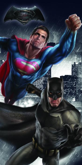 Batman vs Superman, Handduk