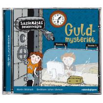 LasseMajas Detektivbyrå, Guldmysteriet, ljudbok CD