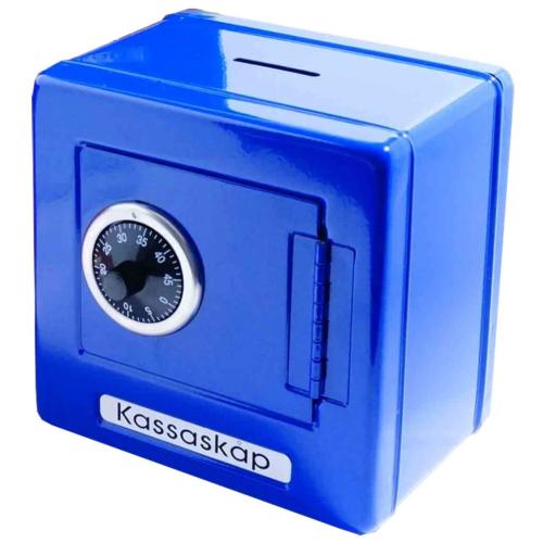 Kassaskåp Metall Blå