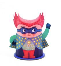 Djeco, Mini Nattlampa, Mister Super