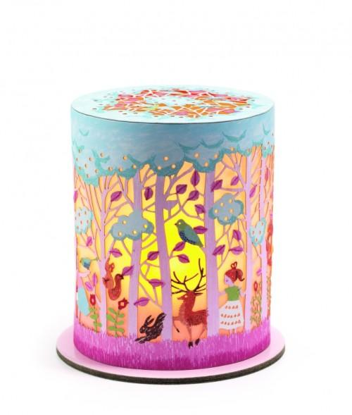 Djeco, Mini Nattlampa Magic forest