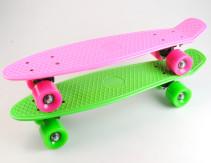Skateboard plast, Grön, 55 cm