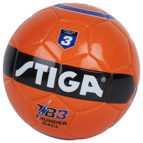 STIGA, Football Thunder ball storlek 3, Orange