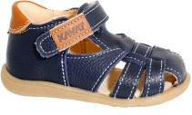 Kavat, Sandaler, Skinn, Rullsand, Blue