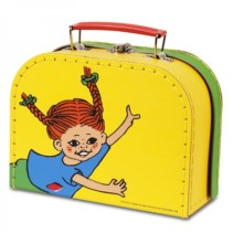 Pippi resväska, 20 cm, gul