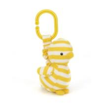 Jellycat, Dilys Anka Barnvagnsleksak 19 cm