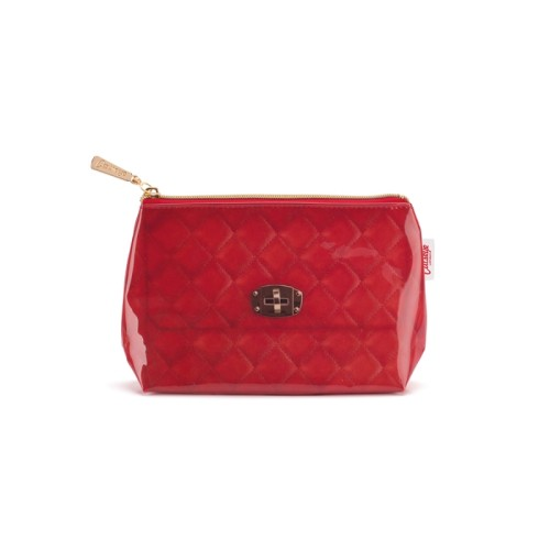 Jellycat, Red Quilted Small Bag