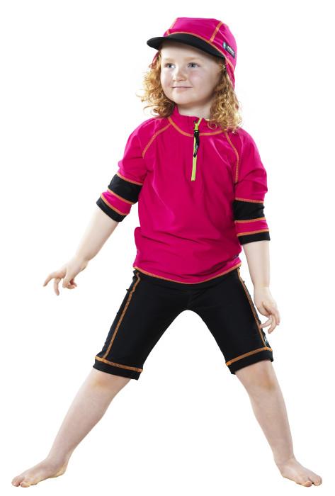 Swimpy, UV-tröja rosa, 110-116 cl, 4-6 år
