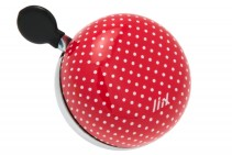 Liix, Liix Mini Ding Dong Bell Polka Dots Red