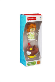 Fisher Price Little People, Bondgård Figur med Höna