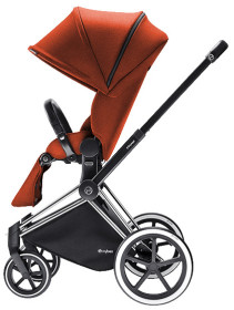 Cybex Priam 2016, Sittvagn, Chrome chassi/Trekking, Autumn Gold, Paket