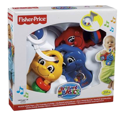 Fisher Price, Musiknycklar