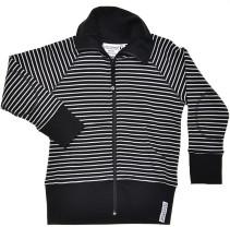Geggamoja, Zipsweater, Classic, Svart/Vit