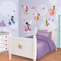 Walltastic, Väggdekaler, Disney Fairies