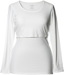 Boob, Amningstopp, Classic Top Long Sleeve, White